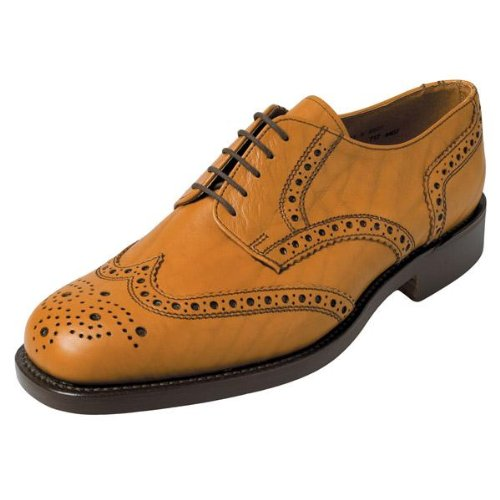 Hoggs Of Fife Stirling Brogue (Leather Sole) (Size 9)