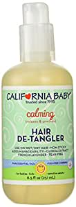 California Baby Hair De-tangler Spray - Calming, 8.5 Ounce