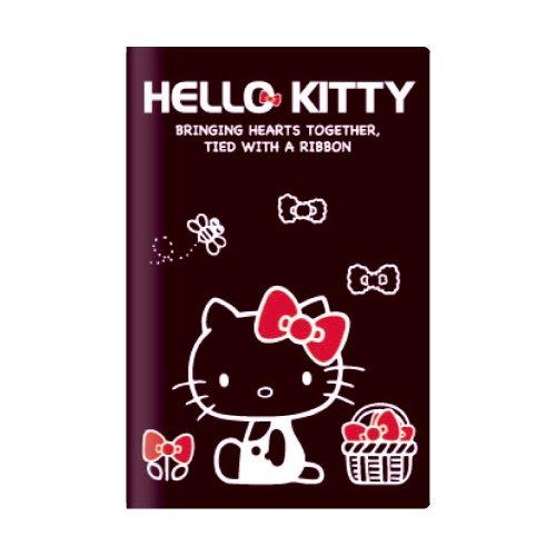 SunStar 2014 notebook Hello Kitty Hello Kitty black 9/2013 starts monthly monthly S size (0.6 x 9.2 x 13 cm) S2925931