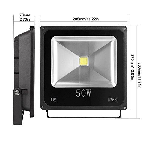 LE 50W Super Bright Outdoor LED Flood Lights 150W HPS