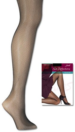Silk Reflections Sheer-to-Waist Tulle Net Pantyhose