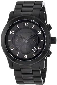 Michael Kors Watches Michael Kors Men's Steel Black Chronograph Sport