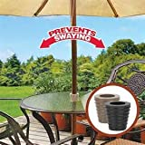 Patio Umbrella Cone (Brown) Fits 1.5