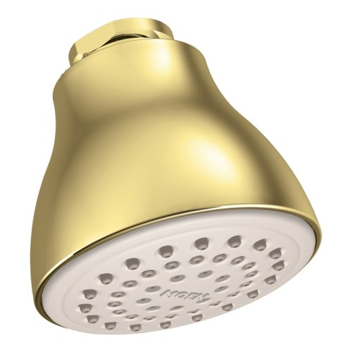 Moen 6300P One-Function Easy Clean XL Shower Head, Polished Brass (Moen Shower Head Brass compare prices)