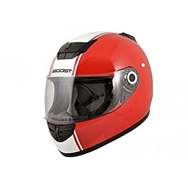Casque boost b530 classic 2015 rouge/blanc m - Boost BS01964