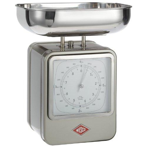 Wesco 322204-03 Balance de cuisine (Maillechort)