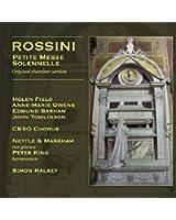 Rossini: Petite messe solennelle, original chamber version