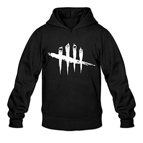mykki-dead-by-daylight-mens-cool-pullover-hood-xl-black