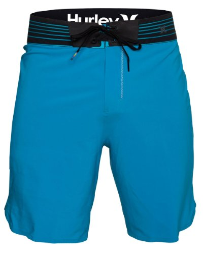 Hurley - Mens Bp Phantom Fuse Boardshort, Size: 36, Color: Cyan