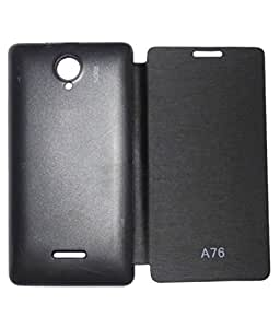 Ascari Flip Cover For Micromax Canvas Fun A76 available at Amazon for Rs.185