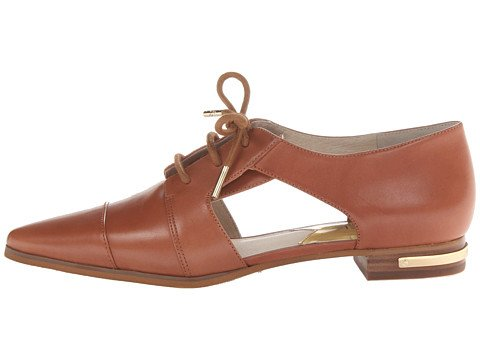 pictures of MICHAEL Michael Kors Women's Graham Oxford Luggage Oxford 7.5 M