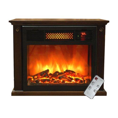 Thermal Wave by SUNHEAT SH-TWFP1500 Fireplace - Espresso image B00F152EVW.jpg