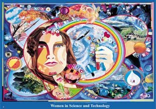 Women's History Month: Women in Science and Technology Poster (WHX) (This Month In History)