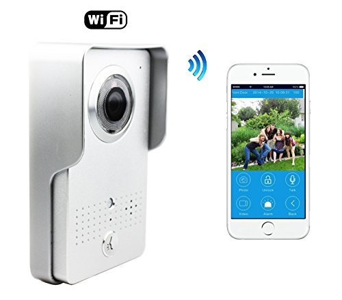 Wireless Visual intercom doorbell Home Security Camera Monitor Intercom System