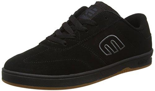 Etnies Men's Lo-Cut Skateboarding Shoe, Black/Red/Gum, 10 M US