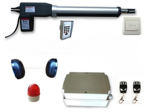 Aleko® As600Acc Gate Opener Operator For Single Swing Gates Up To 10-Feet Long And 660-Pounds