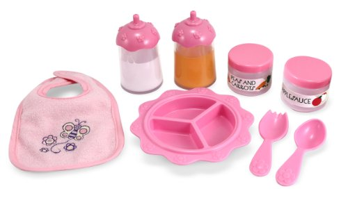 Melissa & Doug Mine to Love Time to Eat Doll Accessories Feeding Set (8 pcs) (Baby Bottles And Accessories compare prices)