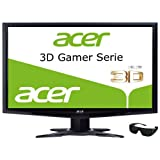Acer GR235HAbmii 23 inch Full HD 3D LED TFT Monitor - Black (VGA, HDMI, 1920 x 1080, 100000000:1, 2ms, 250cd/m2)by Acer