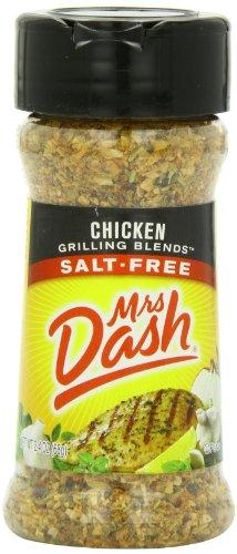 Mrs. Dash Original Grilling Blend Seasoning, Chicken, 2.4 Ounce (Pack Of 12)