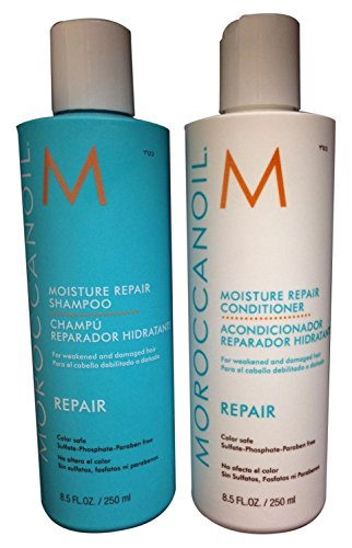 Moroccanoil Moisture Repair Shampoo 250ml e Balsamo 250ml
