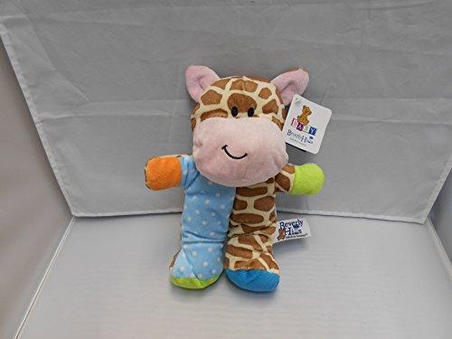 Beverly Hills Plush Beanie Baby Rattle giraffe - 1