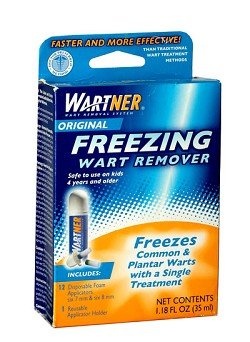 Wartner Original Freezing Wart Remover - 12 Applications (Freeze Away Wart compare prices)