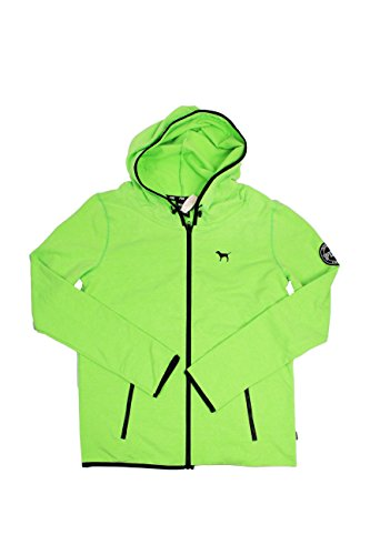 Victoria's Secret PINK Neon Green Ultimate Workout Jacket (Large)