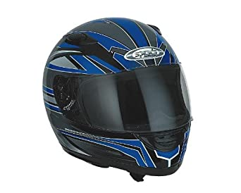 Casque Speeds Integral Evolution II Graphic bleu taille XL
