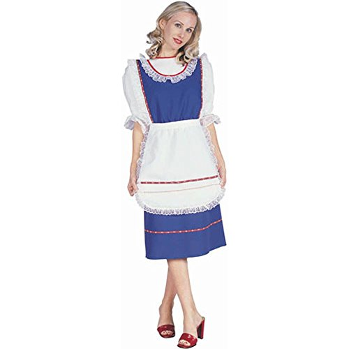 Womne's Blue Bavarian Halloween Costume Dress