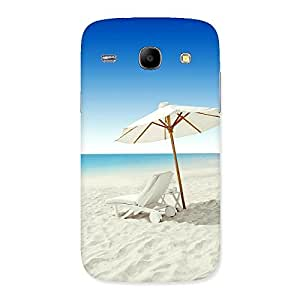 Cute Vaccation Multicolor Back Case Cover for Galaxy Core