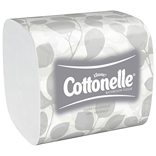 """Cottonelle Hygienic Bathroom Tissue (48280), Soft 2-Ply, Single Pull, 250 Sheets / Pack, 36 Packs / Case""."