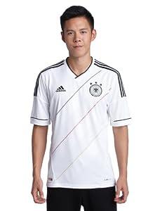 adidas Herren Trikot DFB Home, white/black, L, X20656