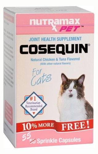 review cosequin pet cosequin for cats 55 capsules cat bone and joint health supplements. Black Bedroom Furniture Sets. Home Design Ideas