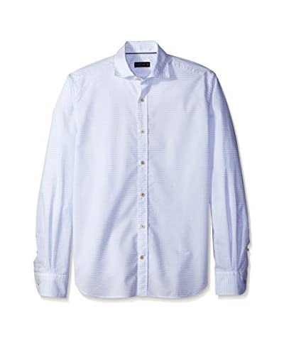 Corneliani Men's Dotted Sport Shirt