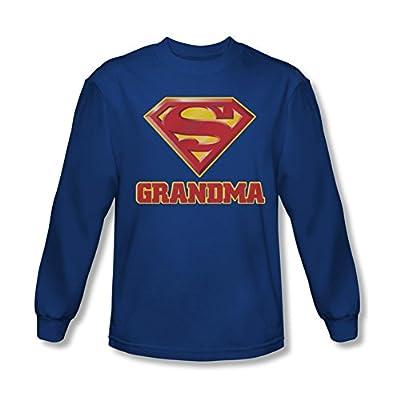 Superman Super Grandma Long Sleeve T-Shirt