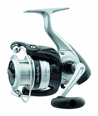 Daiwa Strikeforce Medium-Heavy Spinning Reel with 5.3:1 Gear Ratio, 260-12-Pound
