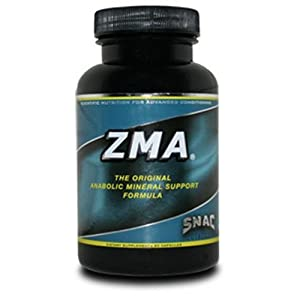 SNAC ZMA The Original Anabolic Mineral Support Formula, 90 Capsules