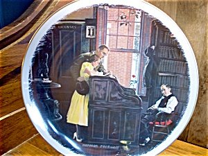 The Marriage License - Norman Rockwell - C5570