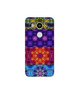 KolorEdge Printed Back Cover For LG Nexus 5X Multicolor - (8412-Ke10938Nexus5XSub)