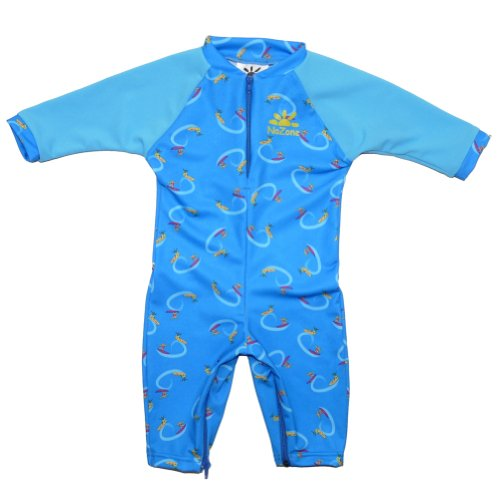 Surf Sun Protective Baby Suit by NoZone in Surf/Atomic, 6-12 months
