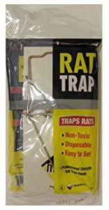 Ims Rat Trap, Non-toxic, Disposable, Easy to Set. 1 Professional Strength Rat Trap