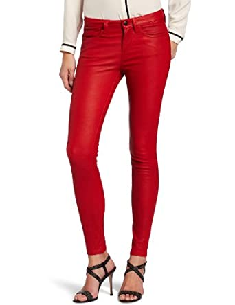 colorful leather jeans