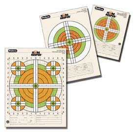 Champion Traps and Targets Scorekeeper Flou 50Yd Notebook Sm Paper Target 45763