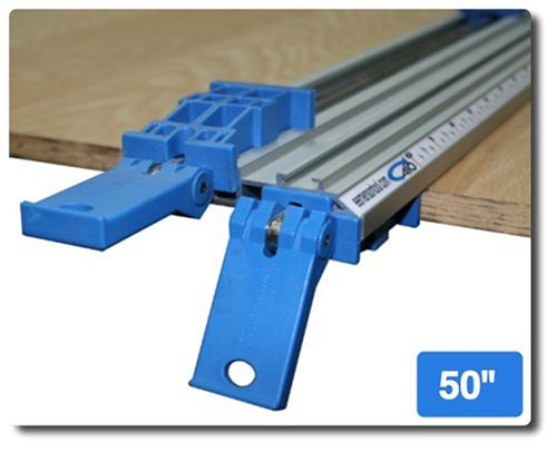 E Emerson Tool T-50 All in One Clamp 50-Inch Double Grip Bench Clamp with T-trackB0000DYVAK