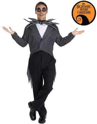 Disguise Men's Disney Nightmare Before Classic Costume