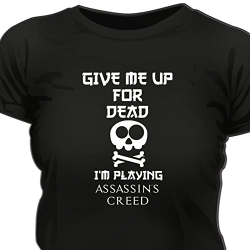 Creepyshirt - GIVE ME UP ASSASSINS CREED WOMAN T-SHIRT - XXL