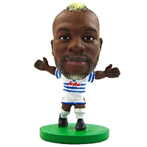 Queens Park Rangers F.C. SoccerStarz Cisse- djibril cisse- soccerstarz figure- 2 inches tall- with collectors card- in blister pack- Official Football Merchandise from Limited Stock / Collectables