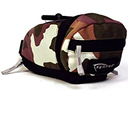 SERFAS CAMO QUICK RELEASE SADDLE BAG MTB-1QCA, Small