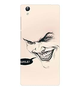 EPICCASE Wicked Smile Mobile Back Case Cover For Vivo Y51 (Designer Case)