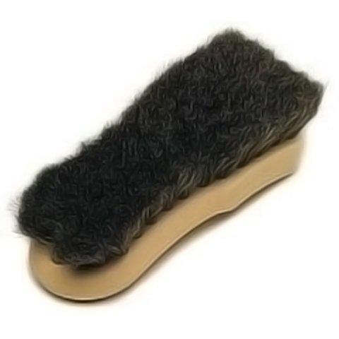 Raggtopp natural horse hair convertible top brush - Natural horse hair interior upholstery brush ...